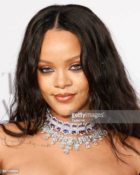 Rihanna attends her third annual Diamond Ball at Cipriani Wall Street on September 14 2017 in New York City
