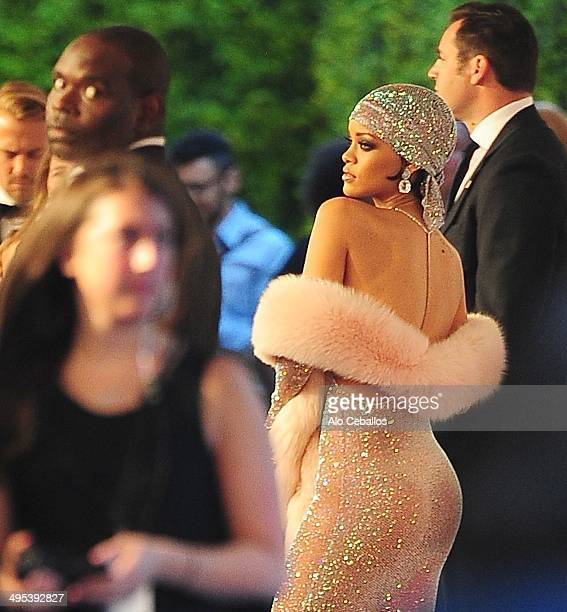 Rihanna attends the 2014 CFDA Fashion Awards>> at Alice Tully Hall Lincoln Center on June 2 2014 in New York City