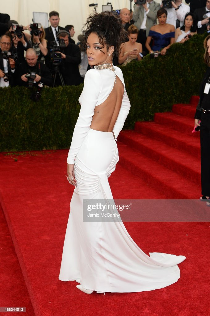 Beyond Fashion' Costume Institute Gala at the Metropolitan Museum of Art on May 5, 2014 in New York City.
