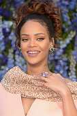 Rihanna attends the Christian Dior show as part of the Paris Fashion Week Womenswear Spring/Summer 2016 on October 2 2015 in Paris France