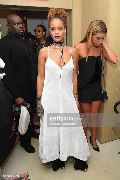 Rihanna attends the Rihanna Party at The New York Edition on September 10 2015 in New York City