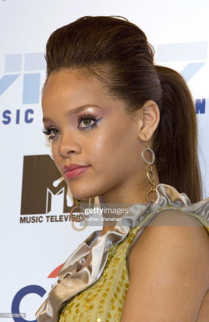Rihanna during MTV Video Music Awards Japan 2006 - Press Room at Yoyogi National Stadium in Tokyo, Japan.