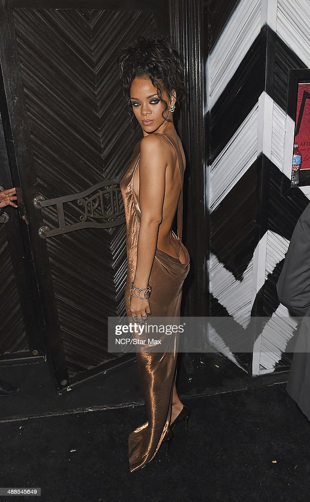 <a gi-track='captionPersonalityLinkClicked' href=/galleries/search?phrase=Rihanna&family=editorial&specificpeople=453439 ng-click='$event.stopPropagation()'>Rihanna</a> is seen at the after-party for The Costume Institute Benefit Gala on May 5, 2014 in New York City.