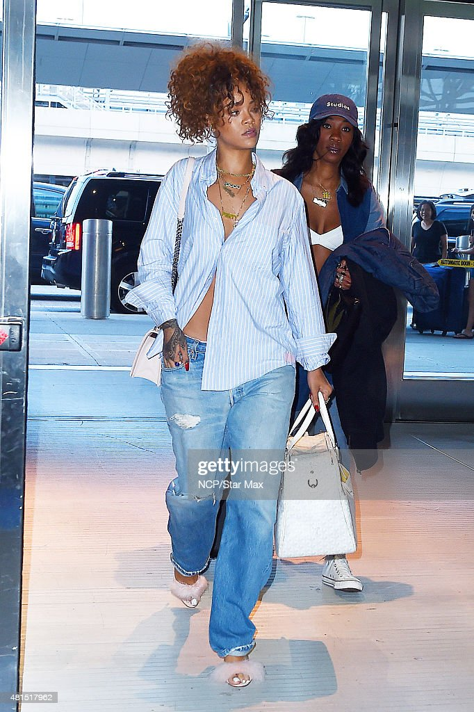 Rihanna is seen on July 21 2015 in New York City