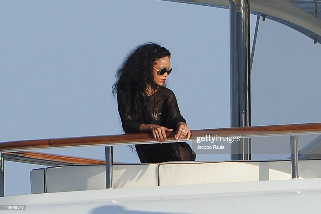 <a gi-track='captionPersonalityLinkClicked' href=/galleries/search?phrase=Rihanna&family=editorial&specificpeople=453439 ng-click='$event.stopPropagation()'>Rihanna</a> is seen on July 28, 2012 in Portofino, Italy.
