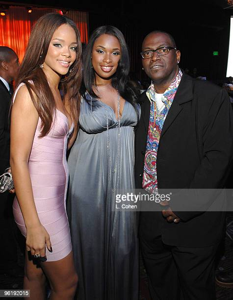 Rihanna Jennifer Hudson and Randy Jackson *EXCLUSIVE*
