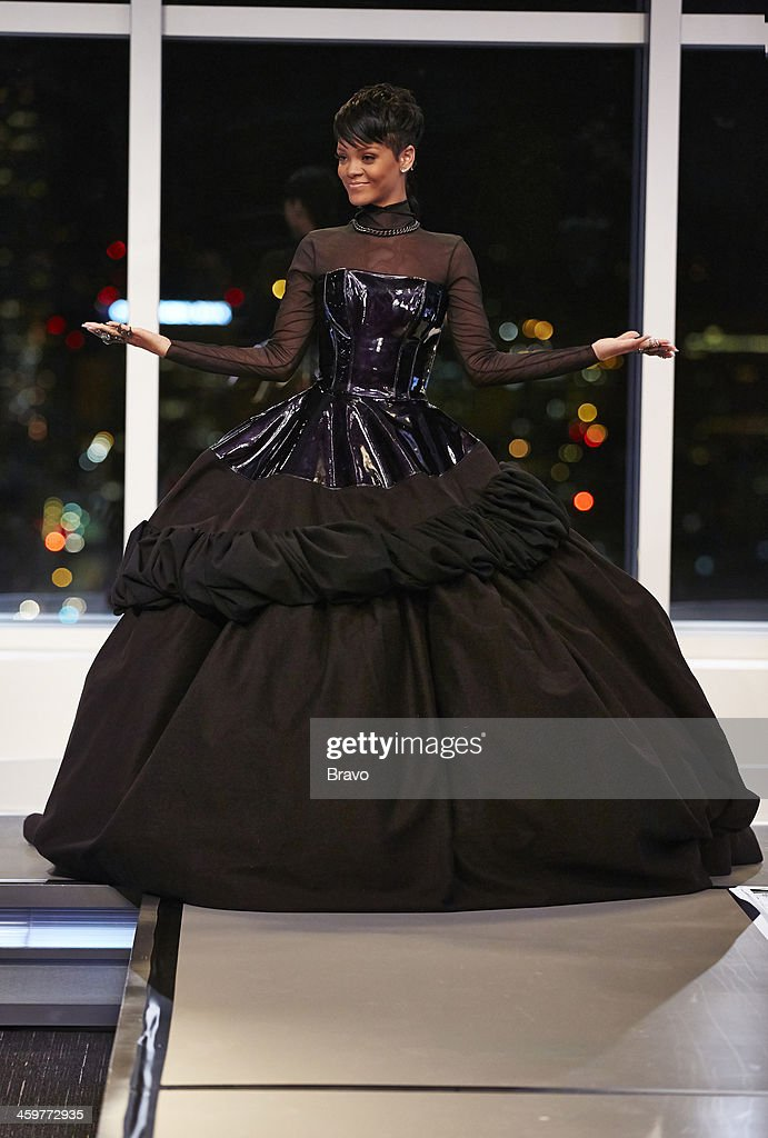 ROCK 'Rihanna on the Runway' Episode 110 Pictured Rihanna