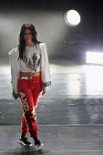 Rihanna performs onstage during the Coke Zero Countdown at the NCAA March Madness Music Festival Ð Day 2 at White River State Park April 4 2015 in...