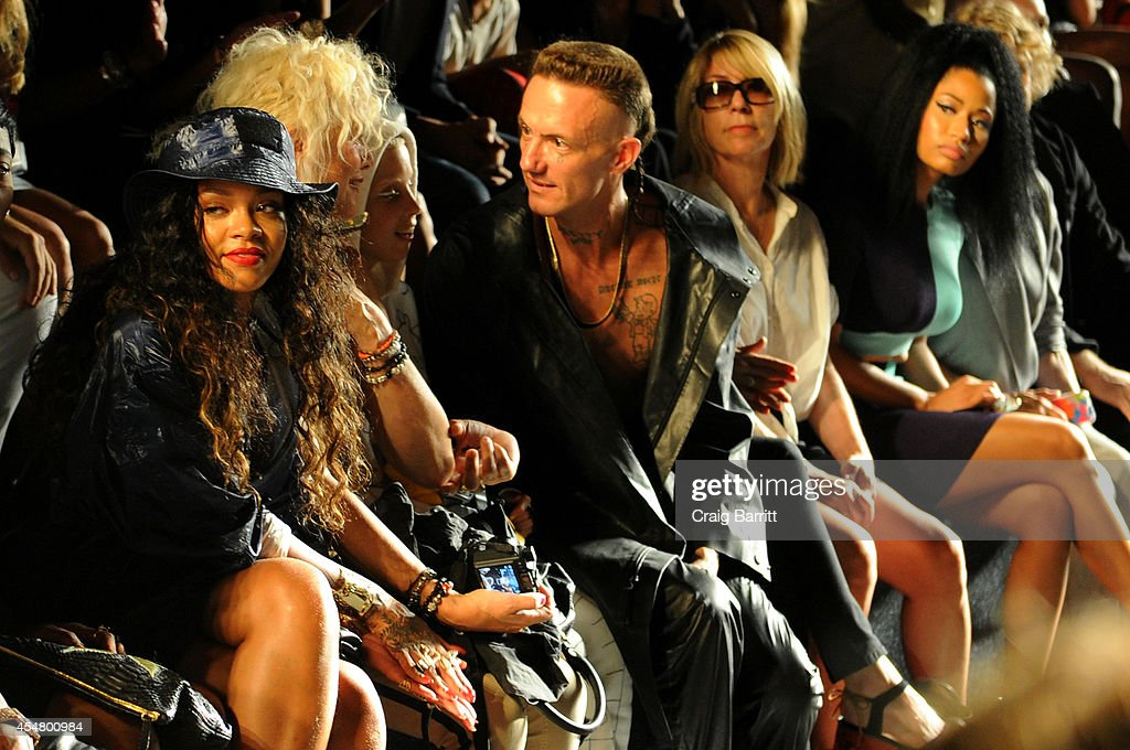 Alexander Wang - Front Row - Mercedes-Benz Fashion Week Spring 2015