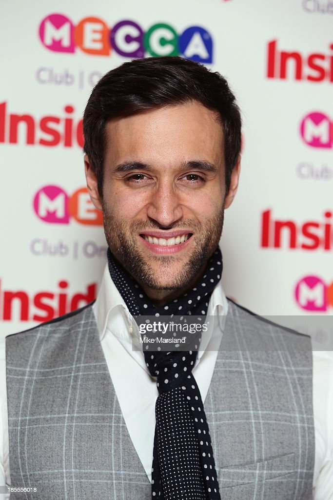 Rik Makarem attends The Inside Soap Awards at The Ministry of Sound on October 21, 2013 in London, England.