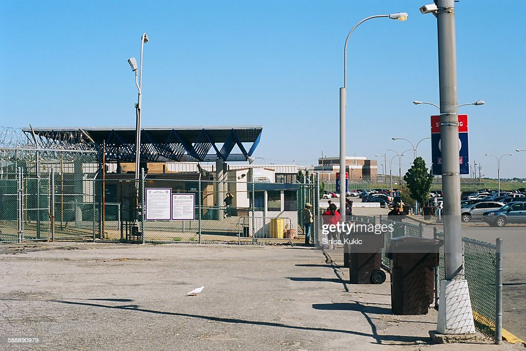 Rikers Island Correctional Facility Entrance