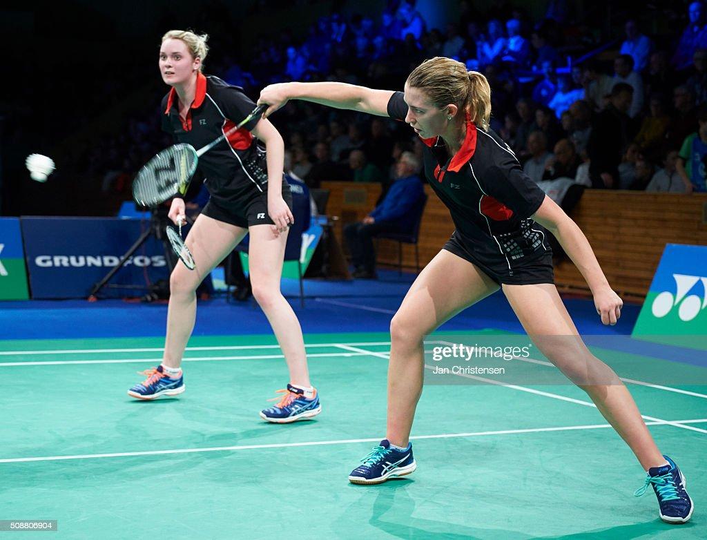 Danish Badminton Championships YONEX DM 2016 Semifinals s
