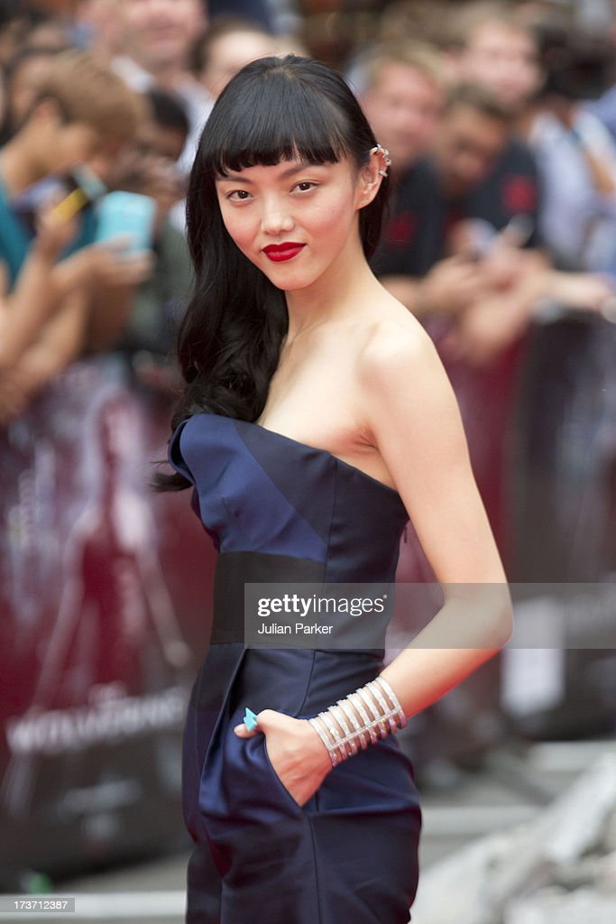 Rila Fukushima attends the UK Premiere of 'The Wolverine' at Empire Leicester Square on July 16, 2013 in London, England.