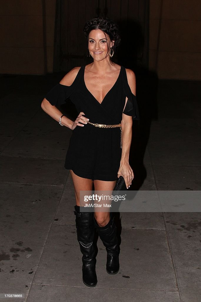 Rileah Vanderbilt as seen on June 11, 2013 in Los Angeles, California.