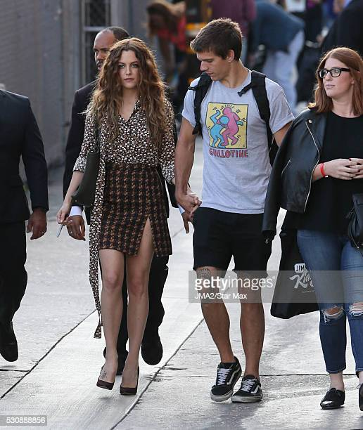 Riley Keough and Ben Smith Peterson are seen on May 11 2016 in Los Angeles CA
