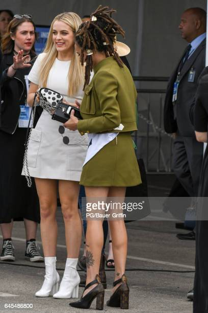 Riley Keough and Sasha Lane are seen at the Spirit Awards on February 25 2017 in Los Angeles California