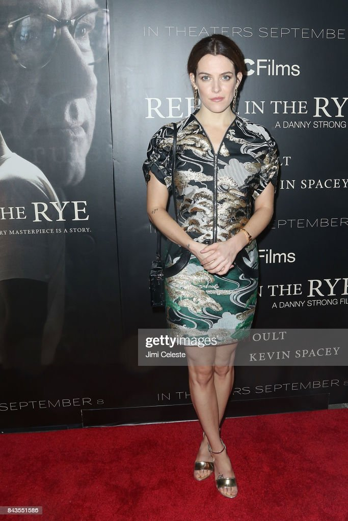 Riley Keough attend 'Rebel in the Rye' screening and after party hosted by Jean Shafiroff and IFC Films at Metrograph on September 6, 2017 in New York City.