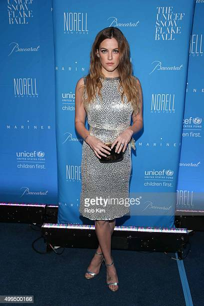 Riley Keough attends 2015 UNICEF Snowflake Ball at Cipriani Wall Street on December 1 2015 in New York City