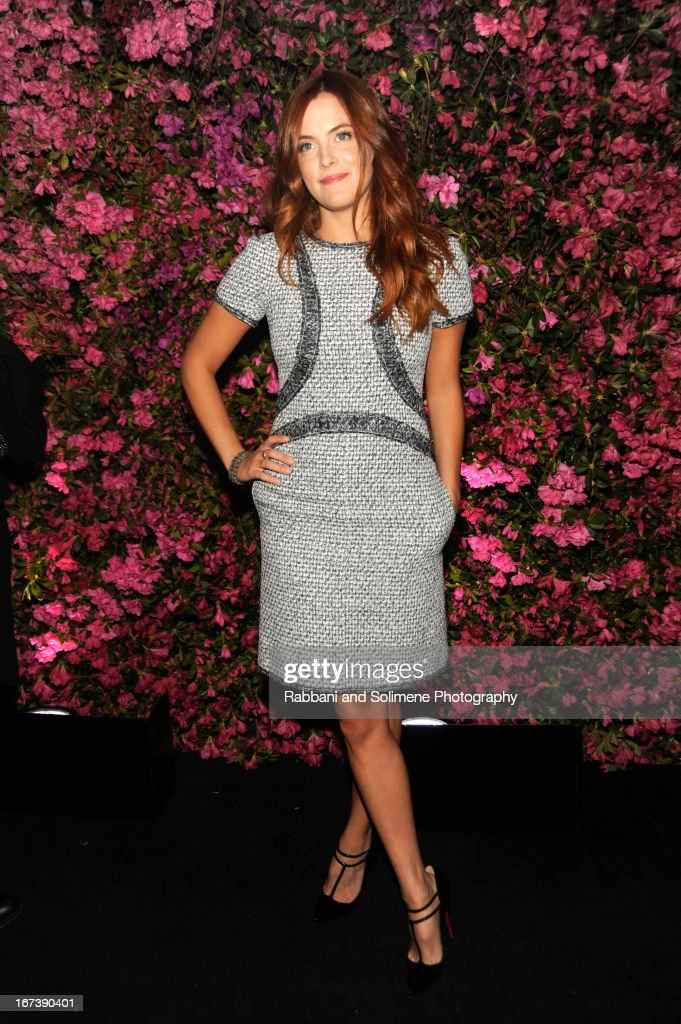 Riley Keough attends 8th Annual Chanel Artists Dinner during the 2013 Tribeca Film Festival at Odeon on April 24, 2013 in New York City.