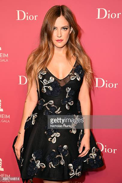 Riley Keough attends the 2015 Guggenheim International Gala PreParty made possible by Dior at Solomon R Guggenheim Museum on November 4 2015 in New...