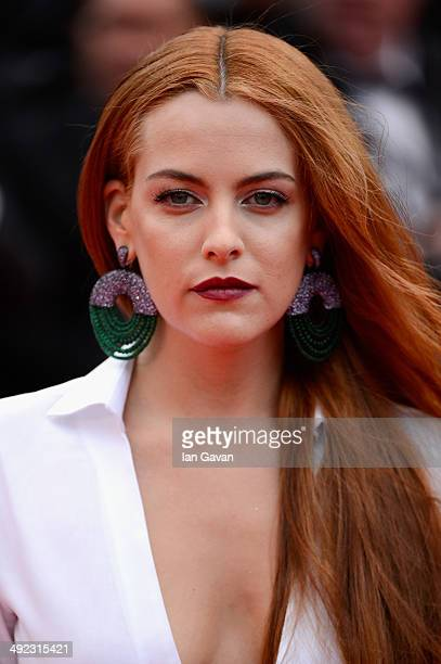 Riley Keough attends the 'Foxcatcher' premiere during the 67th Annual Cannes Film Festival on May 19 2014 in Cannes France