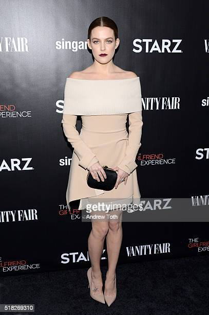 Riley Keough attends 'The Girlfriend Experience' New York premiere at The Paris Theatre on March 30 2016 in New York City
