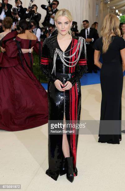 Riley Keough attends the 'Rei Kawakubo/Comme des Garcons Art Of The InBetween' Costume Institute Gala at Metropolitan Museum of Art on May 1 2017 in...