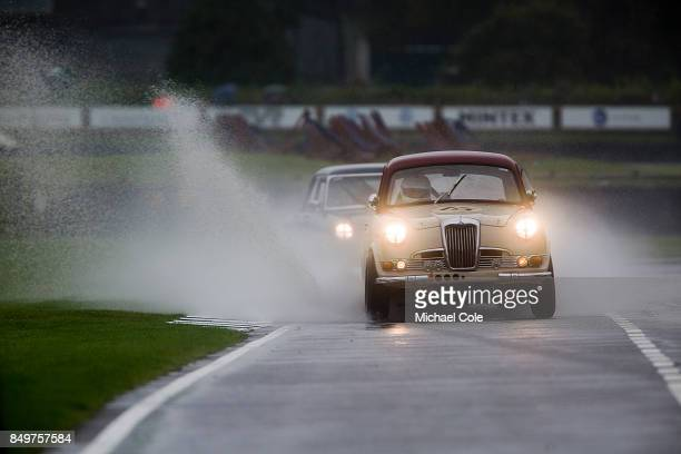 Riley OnePointFive entrant Bonhams driven by Derek Hill in the St Mary's Trophy at Goodwood on September 8th 2017 in Chichester England