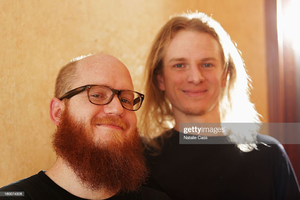 Riley Sorenson and Jonathan Myers attend the ASCAP Music Cafe Day 8 during the 2013 Sundance Film Festival at Sundance ASCAP Music Cafe on January 25, 2013 in Park City, Utah.