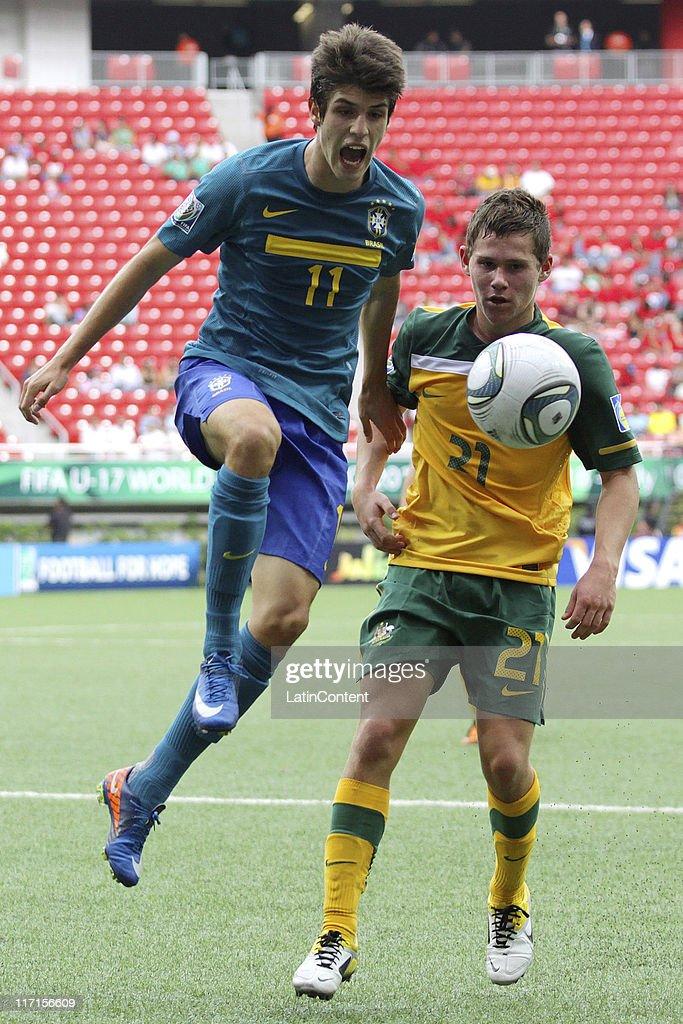 Australia v Brazil: Group F - FIFA U-17 World Cup Mexico 2011