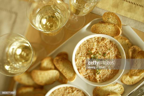 Rillettes of two salmons