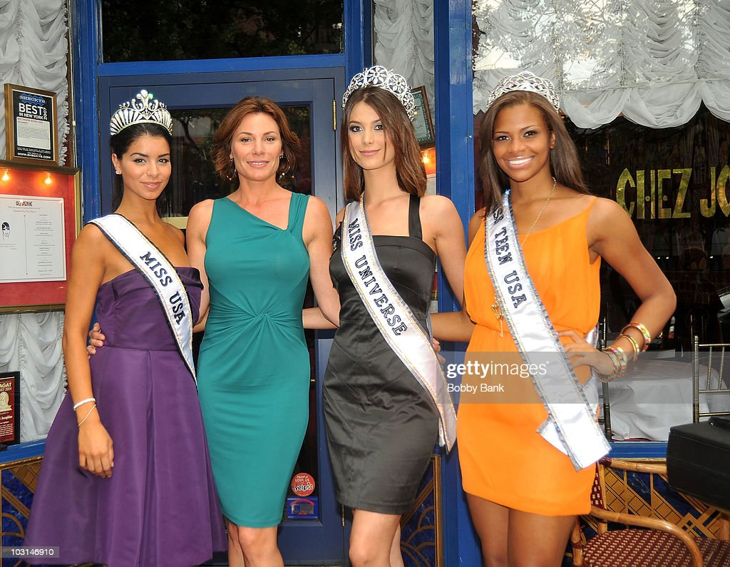 Countess Luann De Lesseps, Miss Universe, Miss USA & Miss Teen USA Lunch