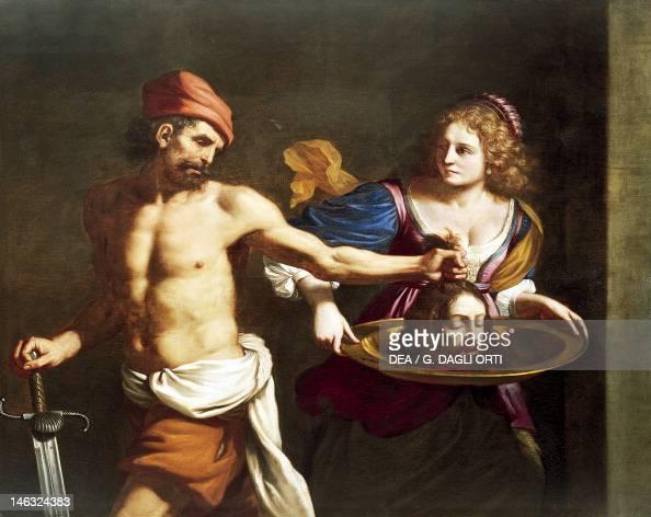 Rimini Museo Della Città Salome receives the head of John the Baptist by Giovanni Francesco Barbieri known as Guercino oil on canvas 144x167 cm