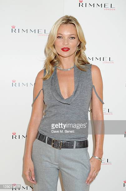 Rimmel celebrates its 10 year partnership with original London girl Kate Moss who today launches her personally designed lipstick range for the brand...