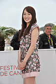 Rin Takanashi at the photo call for 'Like Someone in Love' during the 65th Cannes International Film Festival