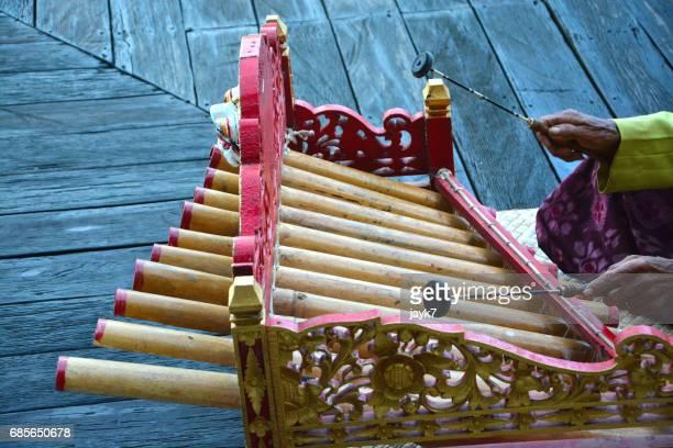 Rindik Bamboo Music Instrument