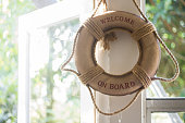Ring Buoy Hanging next to window
