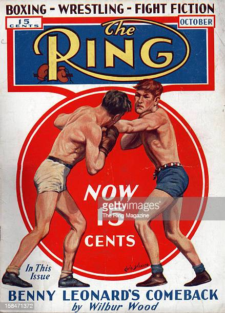 Ring Magazine Cover Chris Schaare Illustration on the cover