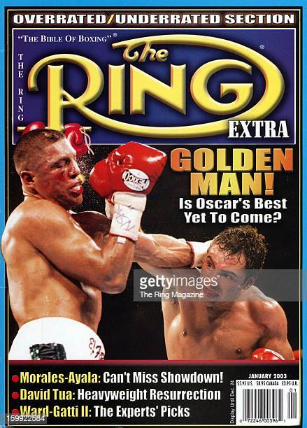 Ring Magazine Cover Fernando Vargas and Oscar De La Hoya on the cover