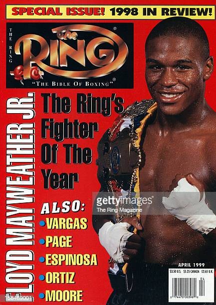 Ring Magazine Cover Floyd Mayweather Jron the cover