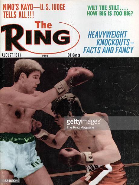 Ring Magazine Cover Nino Benvenuti and Carlos Monzon on the cover