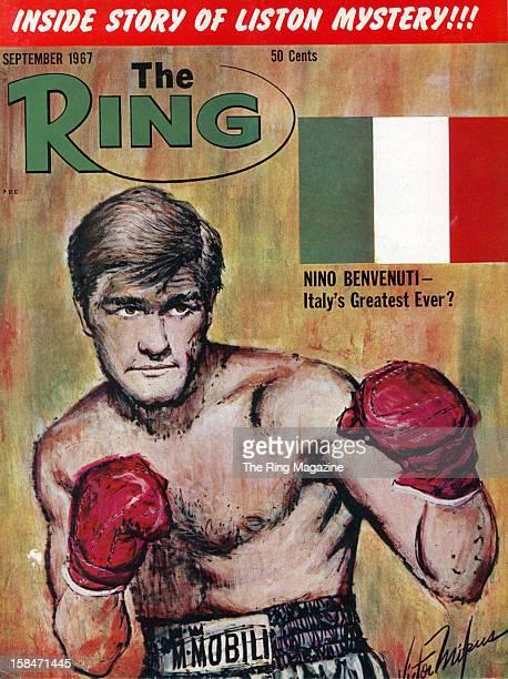Ring Magazine Cover Nino Benvenuti on the cover