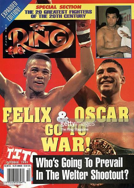 Ring Magazine Cover Oscar De La Hoya and Felix Trinidad on the cover