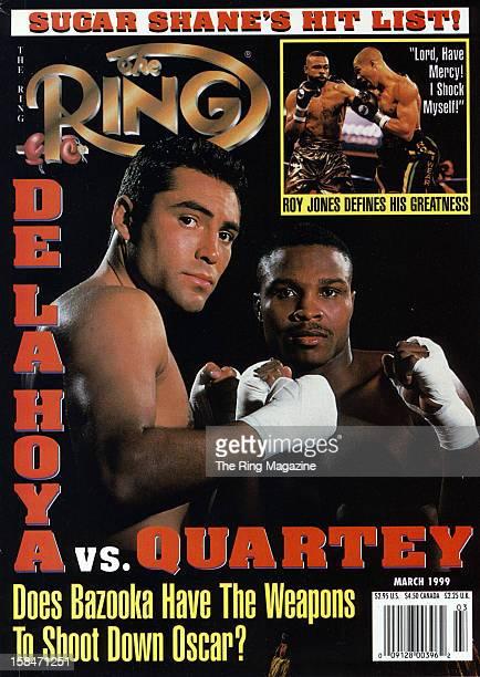 Ring Magazine Cover Oscar De La Hoya and Ike Quartey on the cover