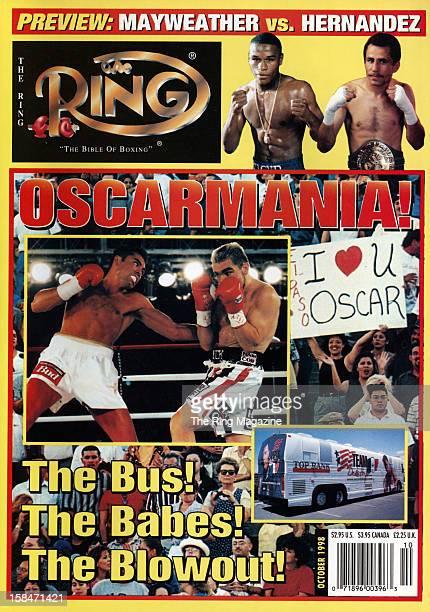 Ring Magazine Cover Oscar De La Hoya on the cover