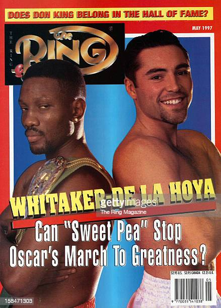 Ring Magazine Cover Pernell Whitaker and Oscar De La Hoya on the cover