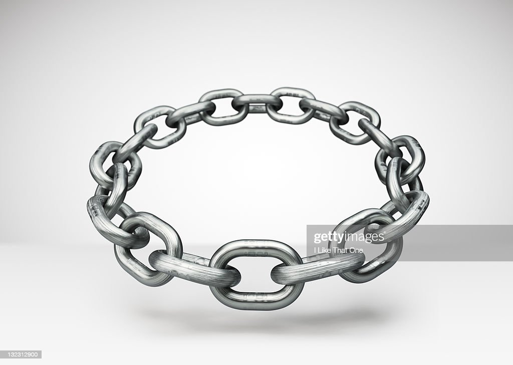 Ring of steel chain
