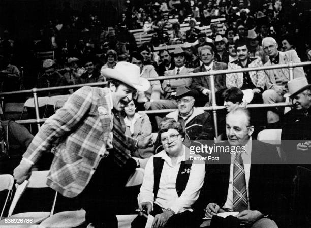 Ringman Almost A Show Himself As He Prods Beef Buyers To Boost Bids Evan Slack gamboled Tuesday night as bidding proceed for 1978 grand champion...
