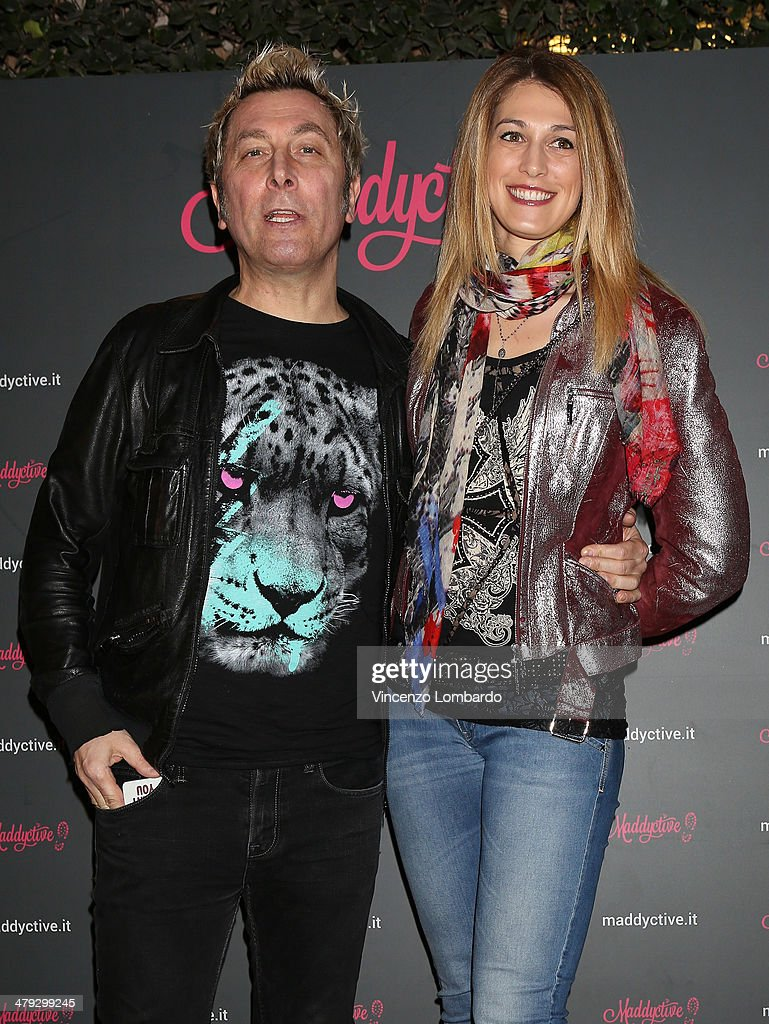 DJ Ringo and Guest attend the Maddalena Corvaglia Presents Maddyctive Web Magazine at Old Fashion Cafe on March 17, 2014 in Milan, Italy.
