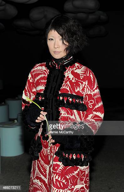 Ringo Sheena attends the Marc Jacobs fashion show during MercedesBenz Fashion Week Fall 2014 at Lexington Avenue Armory on February 13 2014 in New...